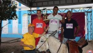 Jecana (corrida de jegues) da 55ª Festa da juventude de Santana do Ipanema