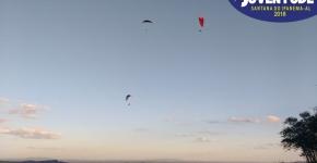 Fotos do vôo de parapente